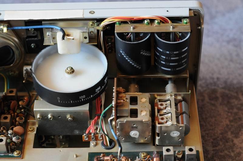 yaesu musen frg  communication reciever., wiring diagram